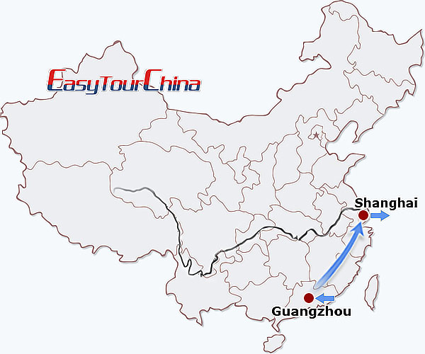 5-day Guangzhou Shanghai Tour