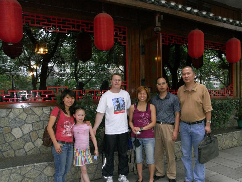 Charlie, Wei and Clients in China