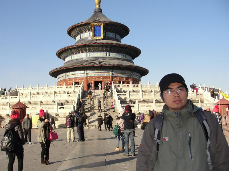 Charlie's Trip to Temple of Heaven Beijing