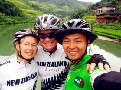New Zealand Clients' Off-the-beaten-path Guilin Biking Adventure in 2016
