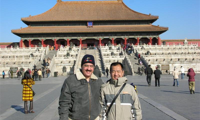 Ricky and Client Visit to Forbidden City of Beijing