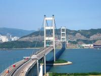Splendid Tsing Ma Bridge