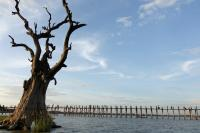 U Bein Bridge Scenery