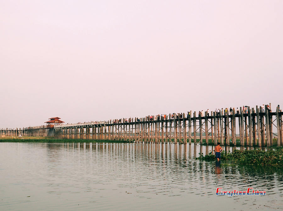 Myanmar Tour with U Bein Bridge