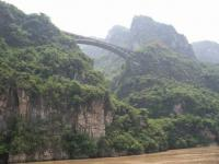 Bridge over Xiling Gorge