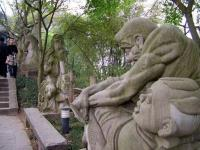 Stone Statues of Ghost