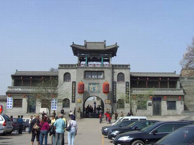 Wang Family Compound (courtyard house) gate tower