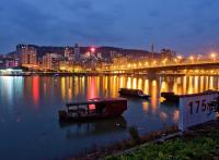Night Scene of Wanzhou