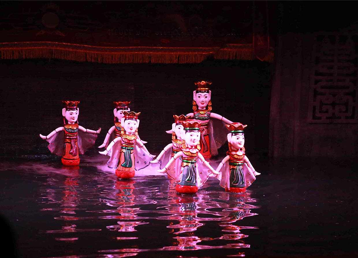 Unique Water Puppet Show in Vietnam