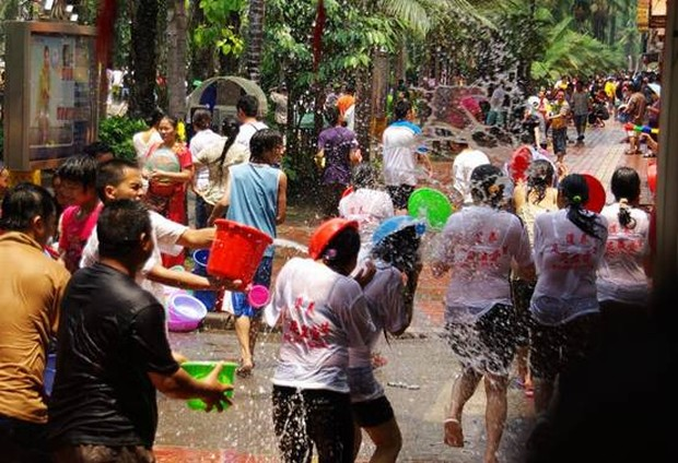 Enjoy Water Splashing Festival