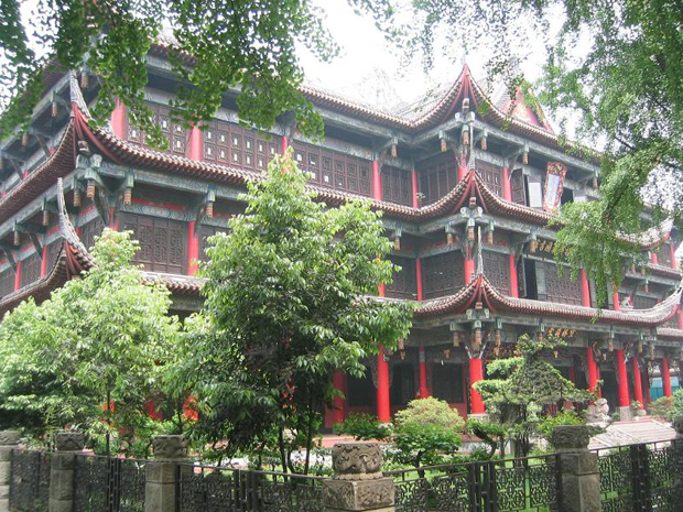 Wenshu Monastery Exiquiste Architecture