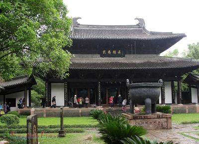 Picture of a Small Temple in Wuyishan Nature Reserve