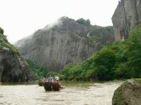 bamboo rafting at Wuyishan