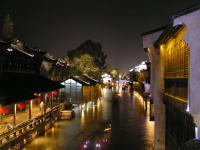 Wuzhen Water Town Night Scenery