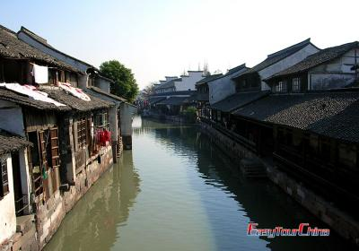 Wuzhen Water Town Life Image