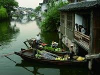 The Floating Market of Wuzhen