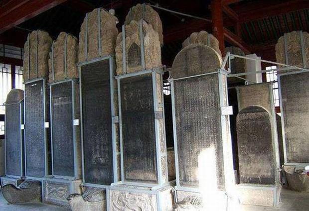 Steles Xian Forest Of Stele Museum Travel Photos Images