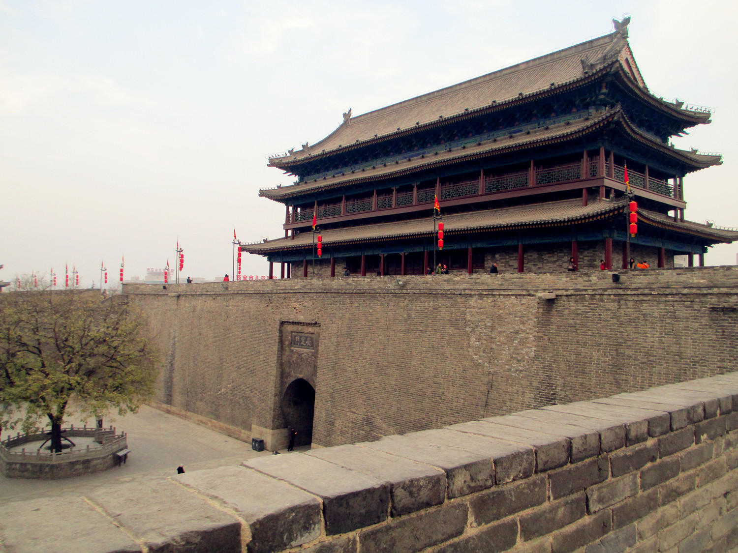 Anding Gate of Xian Old City Wall