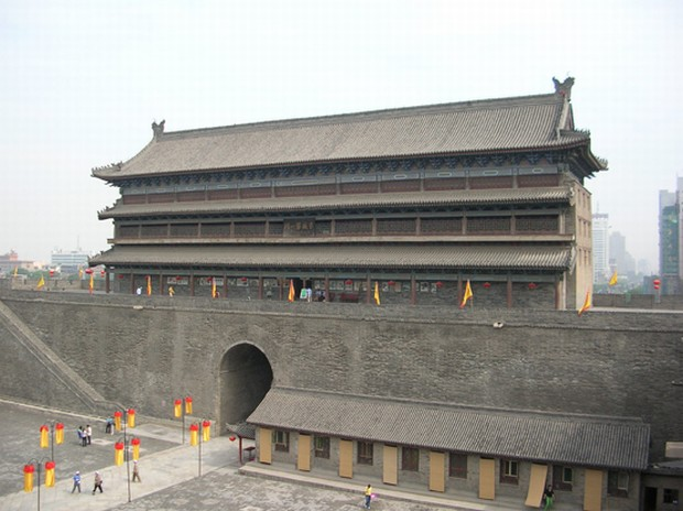 Xian Old City Wall Sightseeing