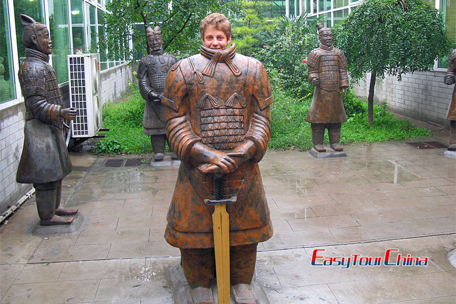 China history tour to Terra Cotta Warriors and Horses Museum