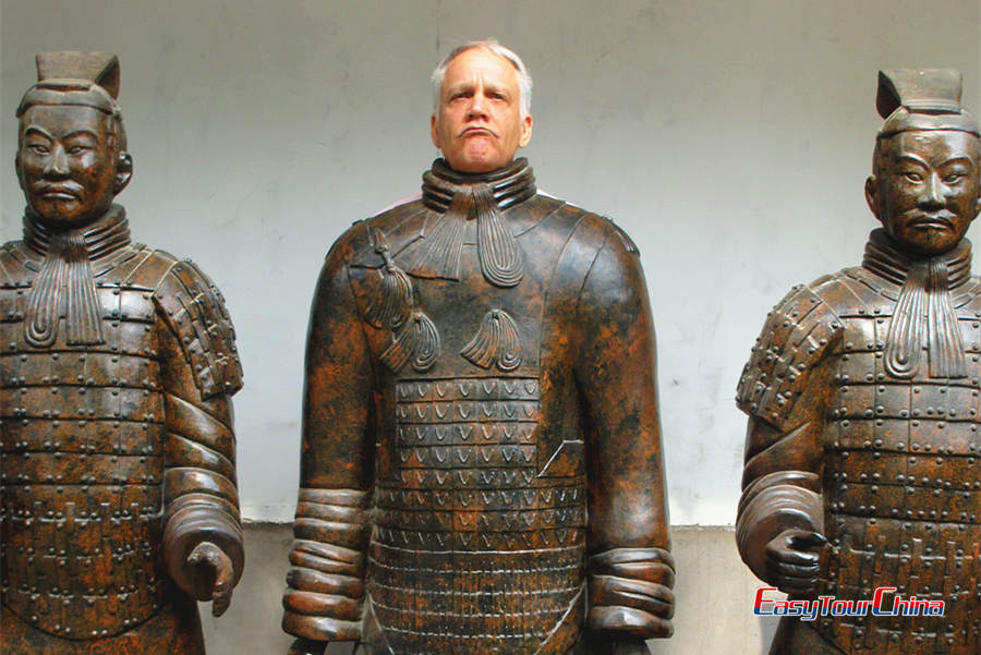 China senior tour to Terra Cotta Warriors and Horses Museum