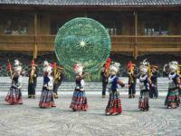 miao people dancing
