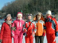 Yabuli International Ski Resort Colorful Teammates