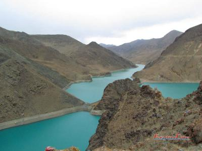 The Holy Yamdrok Lake