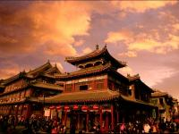 Yangliuqing Ancient Town at twilight