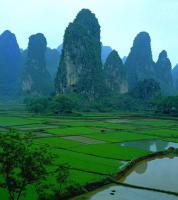 karst mountain Guilin