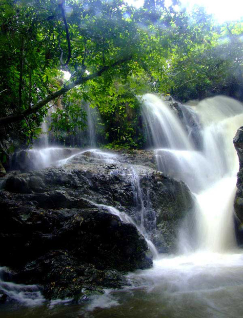 rainforest waterfall sanya attractions travel photos of