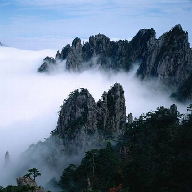 Yellow Mountain Sea of Clouds
