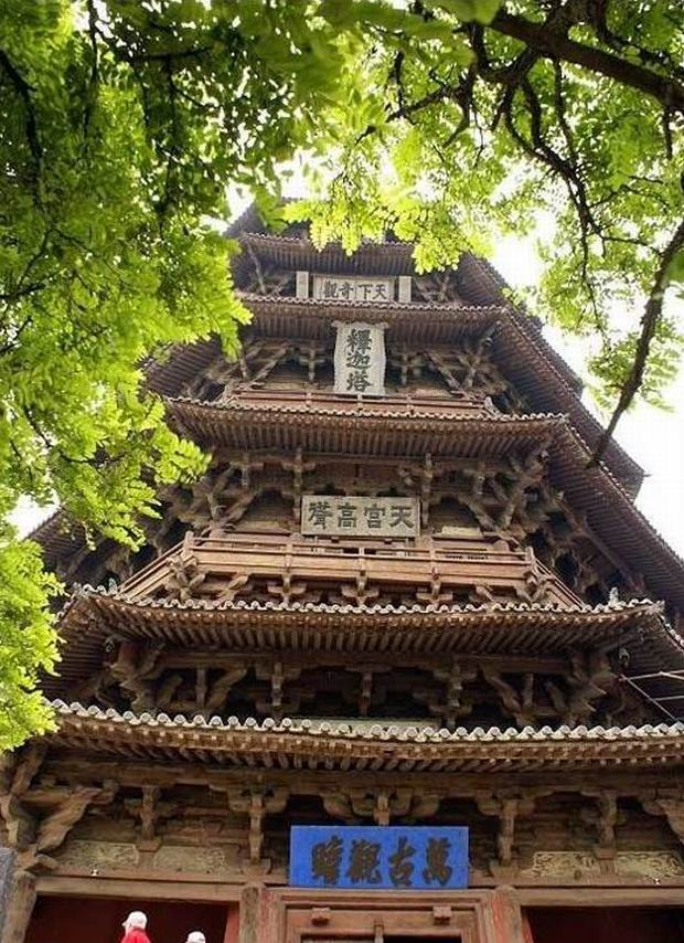 YYingxian Wooden Pagoda Structure