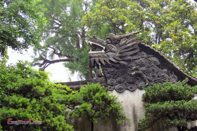 Dragon Roof at Yu Garden
