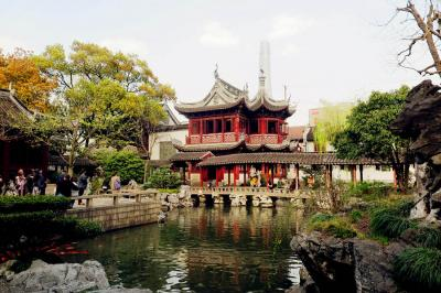Chinese Garden Scenery of Yu Garden
