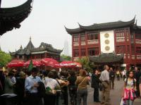 Shanghai Yu Garden Outside View