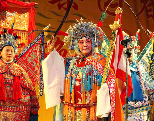 Opera Performance in Henan province