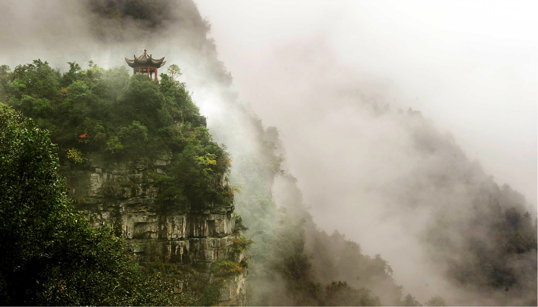 Temples at Yubeng Village