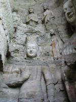 Yungang Grottos Rock Carving