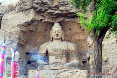 Seated Buddha of Cave 20, Yungang Grottoes