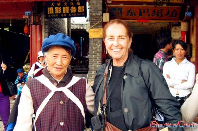 Argentinian Client Visiting Yunnan Lijiang in 2011