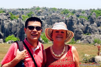 Visiting Kunming Stone Forest National Geological Park