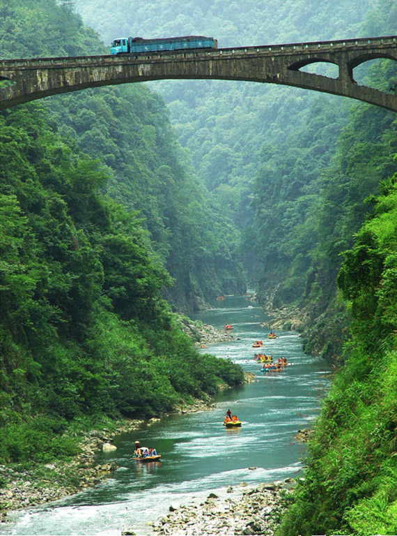 Zhangjiajie Mengdong River Whitewater Rafting