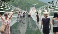 The Zhangjiajie Grand Canyon Glass Bridge