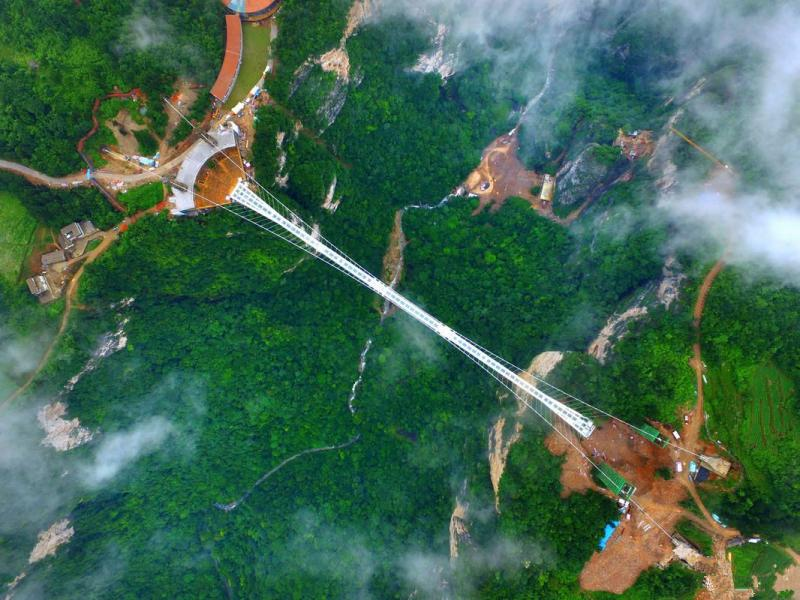where is Zhangjiajie glass bridge