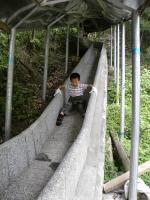 The Marble Slide of Zhangjiajie Grand Canyon