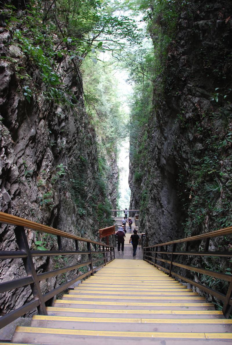 The Steep Stairs Of Zhangjiajie Grand Canyon Zhangjiajie