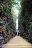 The Steep Stairs of Zhangjiajie Grand Canyon