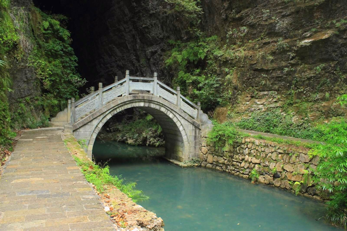 The Beautiful Scenery of Zhangjiajie Grand Canyon