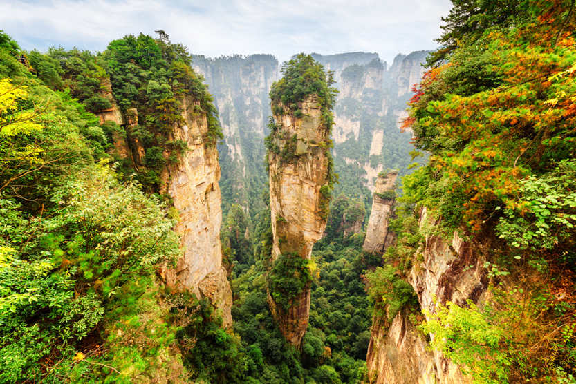 Zhangjiajie Avatar Mountains